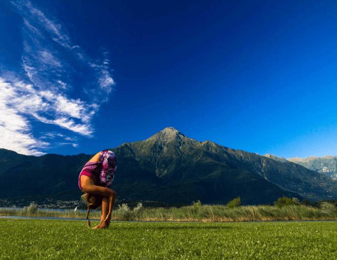 Pre- & After-Kite Yoga