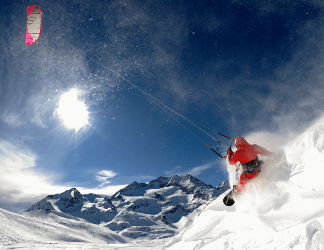 BigDayz Snowkiteclub Berninapass